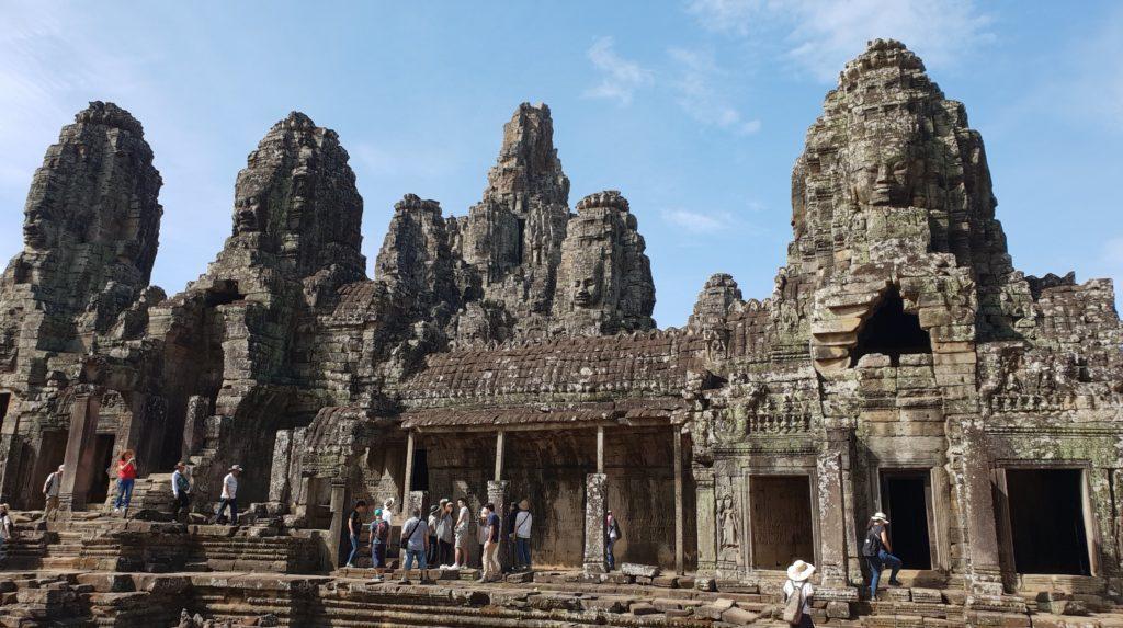 Bayon temple Angkor parmi les plus beaux endroits du monde
