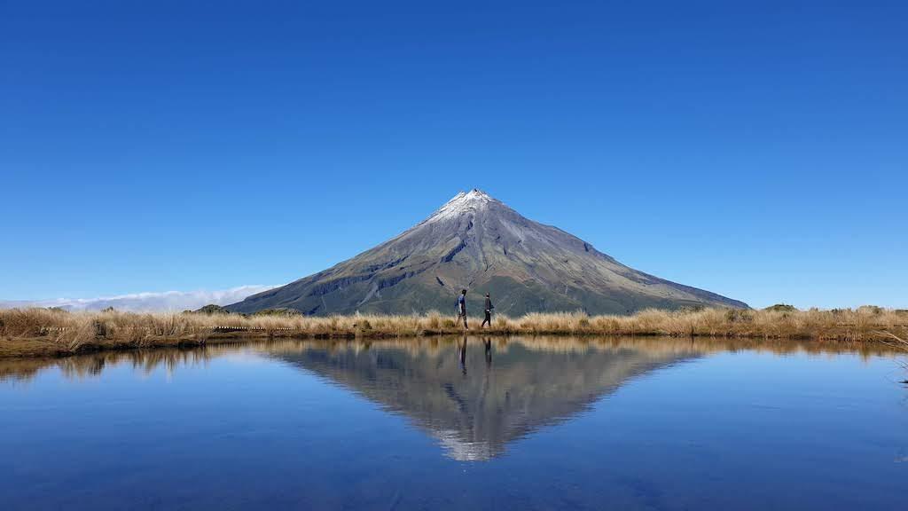 Egmont National Park, Mont Taranaki. C'est notre photo préférée de la nouvelle-zélande