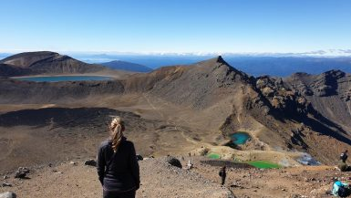 tongariro alpine crossing sommet