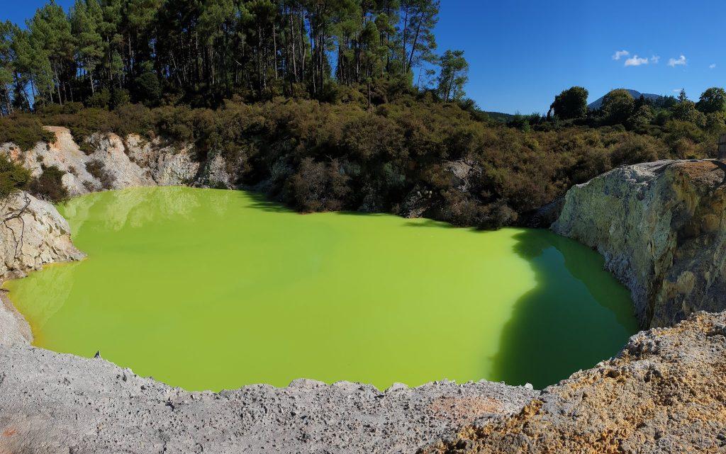 Rotorua parcs volcaniques de la nouvelle-zélande