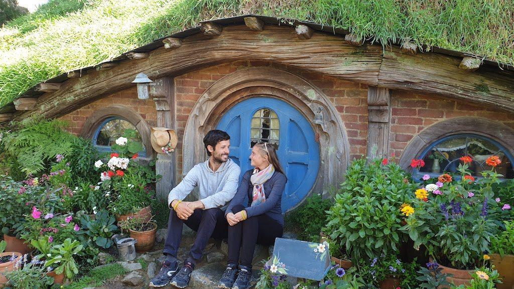 hobbiton maison de hobbit en nouvelle zelande