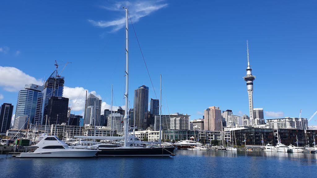 Auckland capitale économique de la nouvelle-zélande