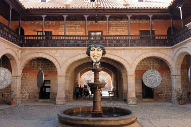 patio maison de la monnaie Potosi