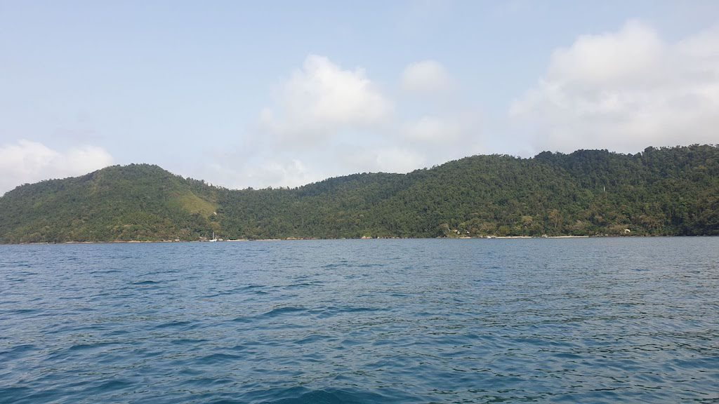 fjord Saco di Mamanga Paraty