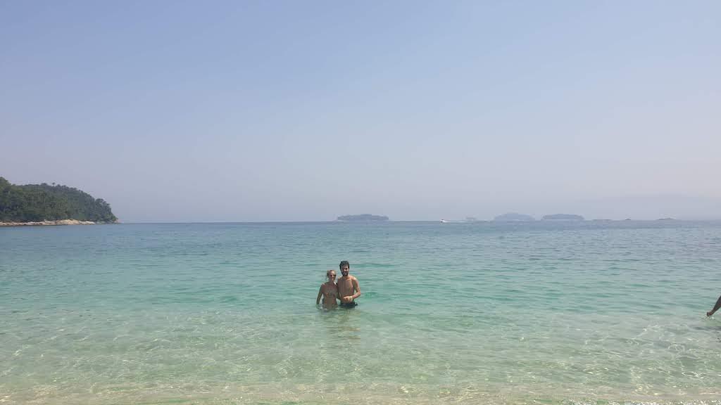 Praia do dentista Ilha Grande