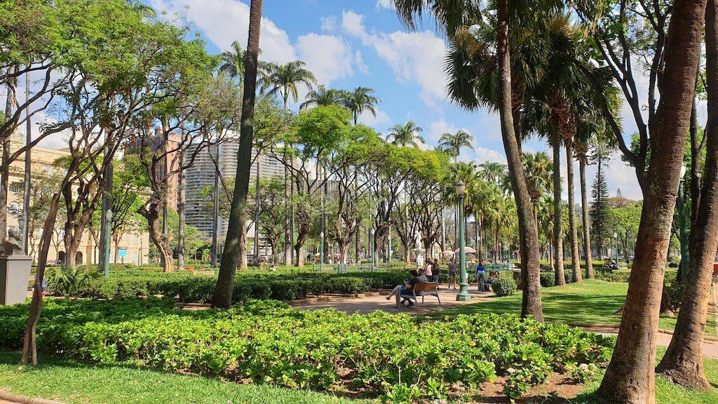 Praça da Libertade Belo Horizonte