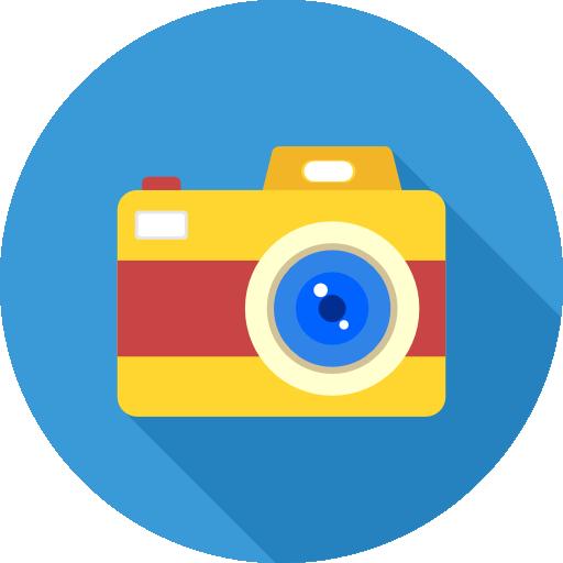 appareil photo icone tour du monde