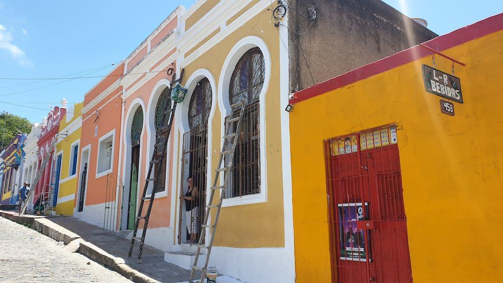 maisons colorées Olinda
