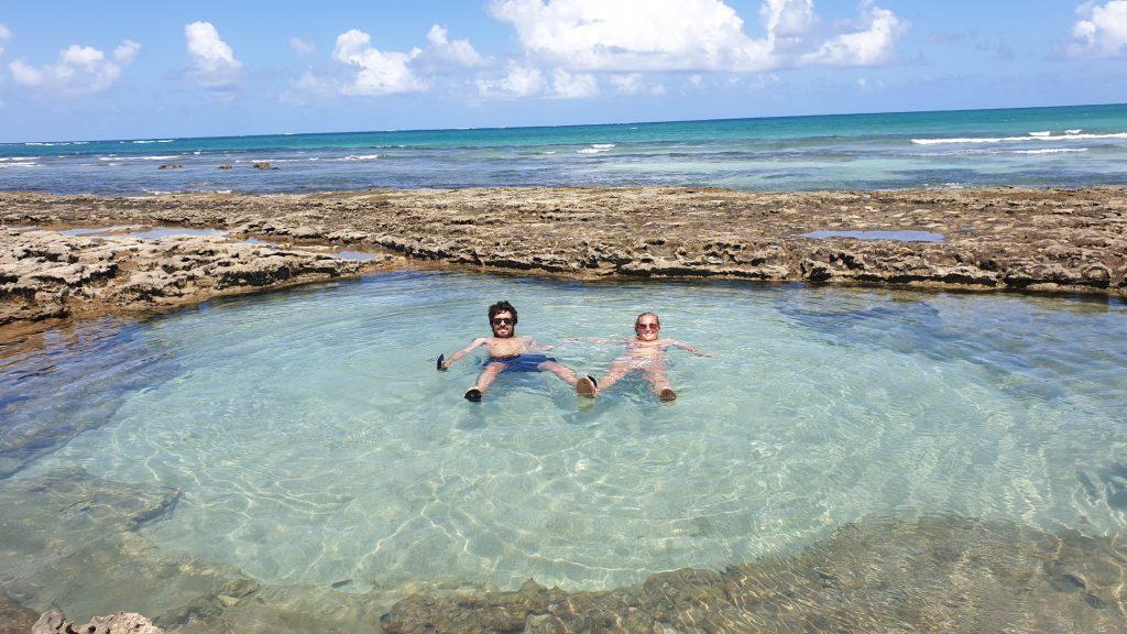 piscine naturelle Praia do Carneiros