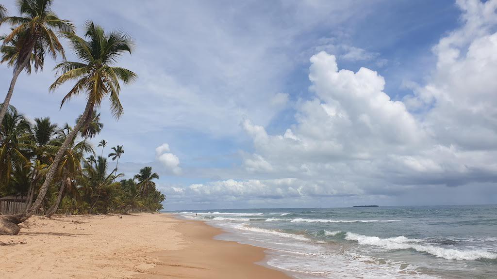 Praia do Três Coqueiros et Praia da Bombaça