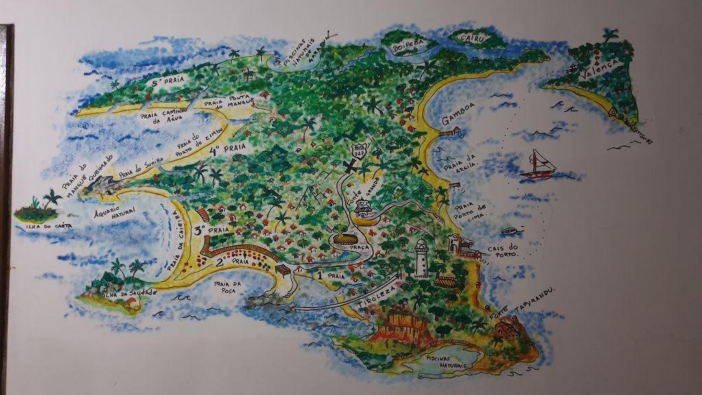 plan Morro de Sao Paulo