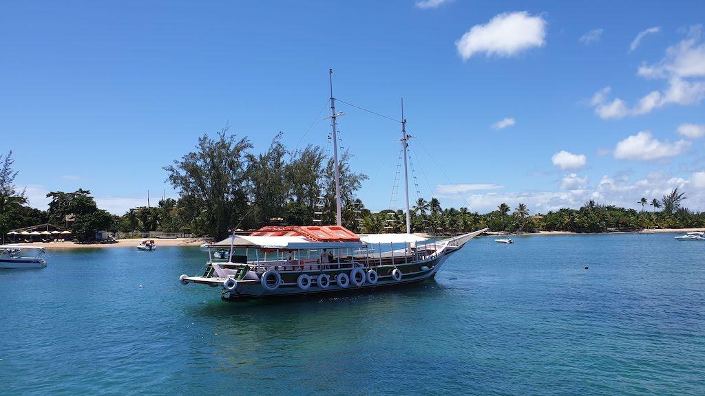 excursion bateau 5 îles Barra Grande