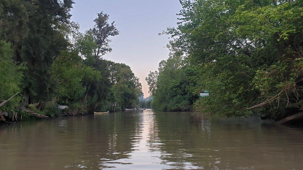 kayak delta Tigre