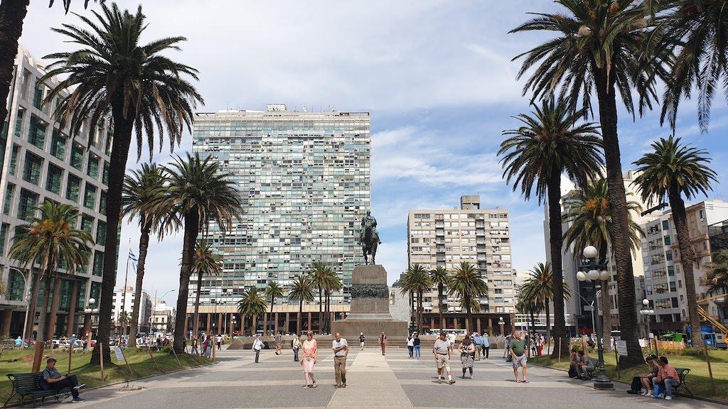 Plaza Independencia montevideo