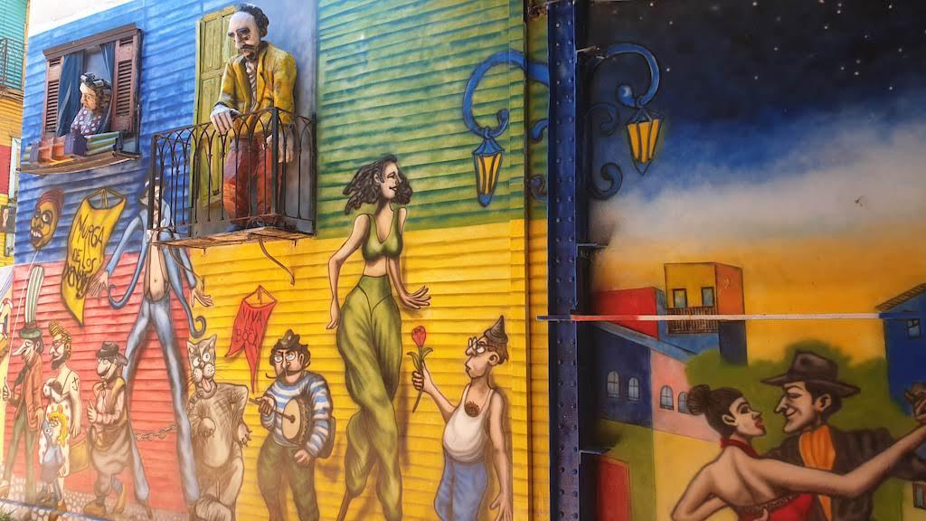Caminito à visiter à Buenos Aires