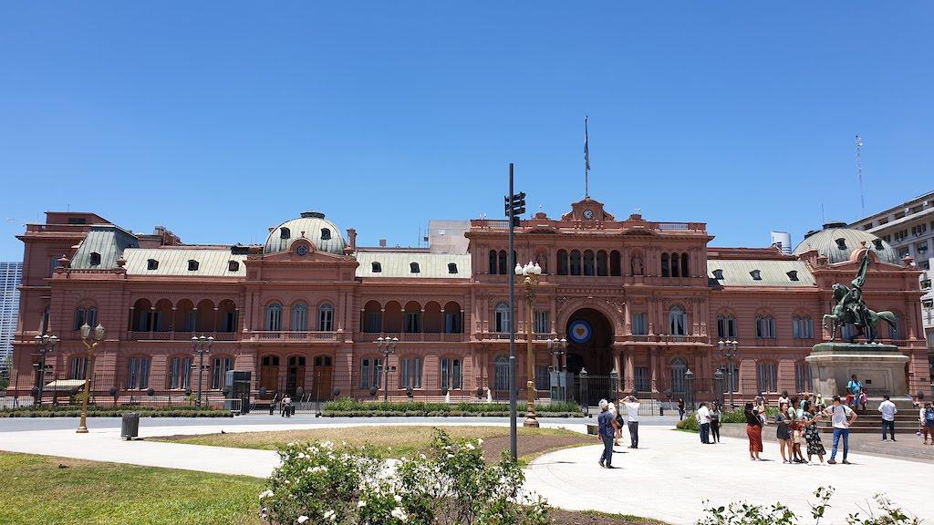 Palacio de Gobierno Casa Rosada
