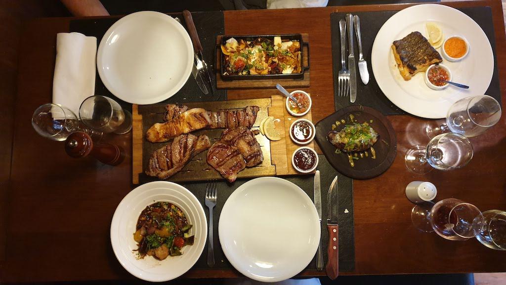 Restaurant Christopher Grill à Ushuaia en Argentine