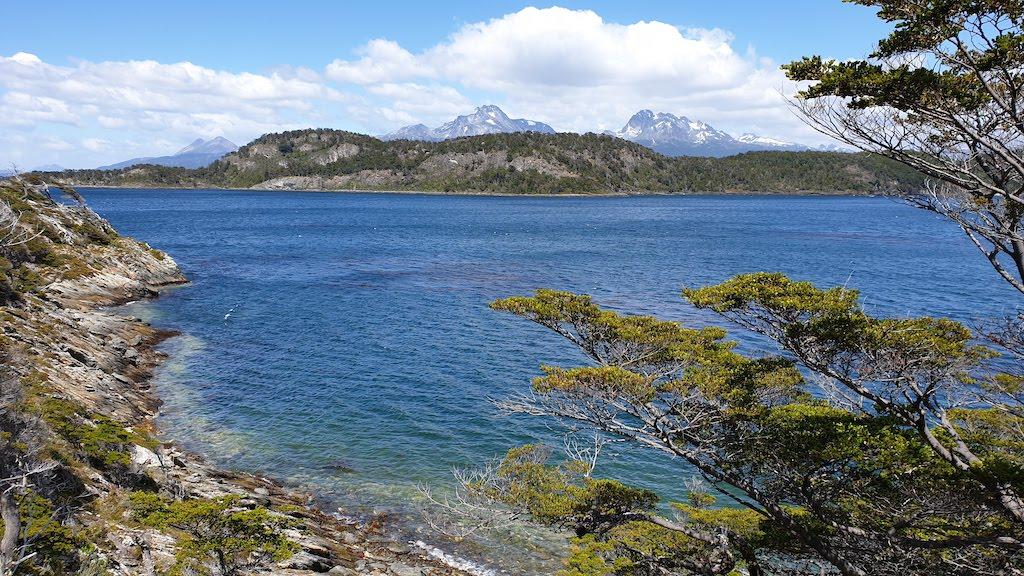 Sentier Costera  parc national Terre de Feu à Ushuaia en Argentine