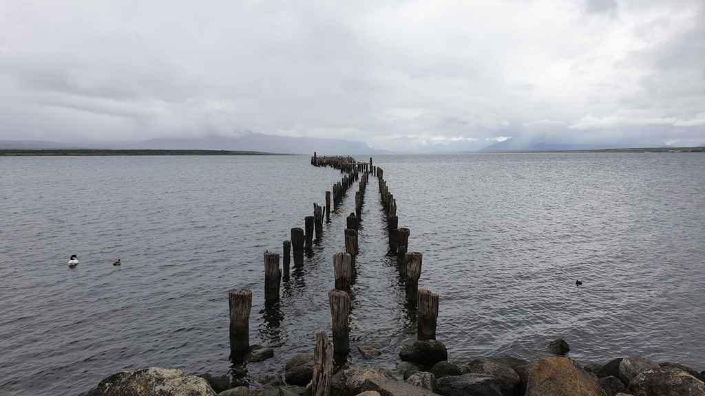 muelle historico à Puerto Natales