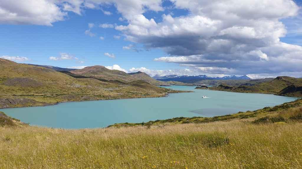Salto Grande lac à proximité de Puerto Natales