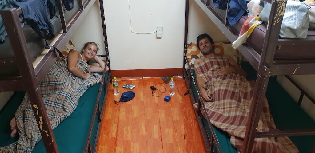 dormir en dortoir comme ici à Chiang Mai en Thailande est une différence entre un tour du monde et des vacances